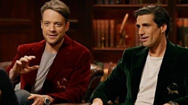 Before becoming household names, Hamish Blake and Andy Lee made their television debut on a Channel 31 show called Radio Karate.