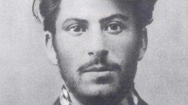 Joseph Stalin as a young, charming man.