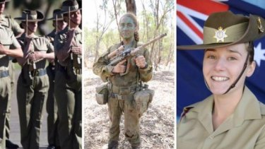 Natasha Rowley graduated as a soldier with the Australian Army in March.