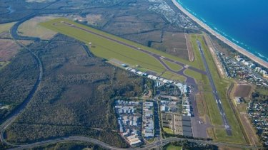 A new runway is planned for the Sunshine Coast Airport expansion.