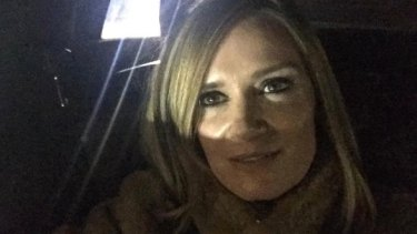 Writer Julia Baird, in a selfie posted on Instagram during a visit to New York.