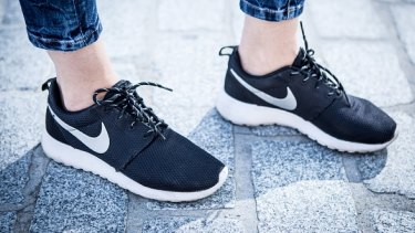 Nike shoes are given to asylum seekers, along with $10,000 in cash - according to some.
