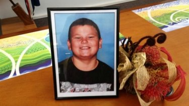 Alex Fisher, 10, was killed in Waitarere, west of Levin, last October.
