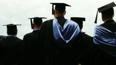 The government says it expects student numbers to grow as a result of access to income-contingent loans.