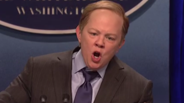 Melissa McCarthy's turn as Sean Spicer on SNL was recognised.