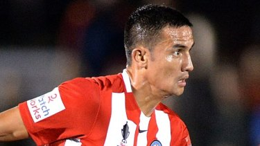 Ready for home debut with Melbourne City: Tim Cahill.