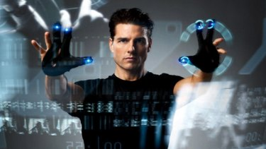 Will life imitate art? Tom Cruise in Steven Spielberg's 2002 sci-fi hit <i>Minority Report</i>, based on Philip K. Dick's classic story, predicted a future where people would be locked up before they committed a crime.