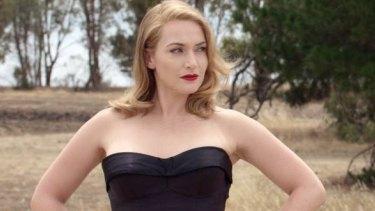 Stunning costumes: Kate Winslet in <i>The Dressmaker</i>.