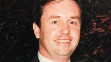 Former prominent Hunter winemaker David James.