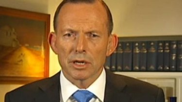 """Well I don't accept that."" Tony Abbott hits back at Leigh Sales."