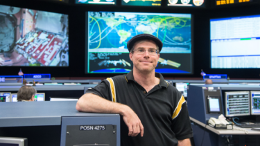 Author Andy Weir, the computer programmer who wrote the story behind the new film