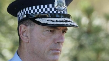 Police commissioner O'Callaghan concedes there were parts of the state's policing model that need work.