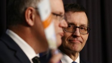 Many of the reforms Ian Harper (pictured with Treasurer Scott Morrison) proposes make much sense.