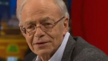 Author Peter Singer says volunteering is in effect donating unskilled labour.