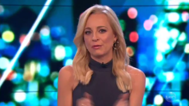 <i>The Project</i>'s Carrie Bickmore had been working toward the $1 million goal since launching the charity one year ago.