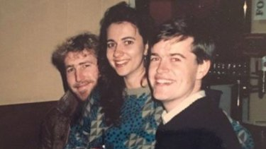 Student politics buddies:  Annastacia Palaszczuk made friends with rising stars of the Labor movement as she got involved with issues early. Here, in the late 1980s, with Bill Shorten, right, and Chris Brown, left, who went on to become Tourism Transport Forum head.