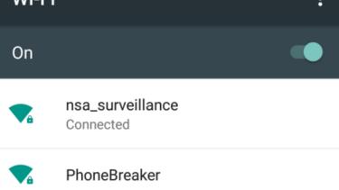Harrigan and Kelley named their destructive Wi-Fi test network 'Phonebreaker'.