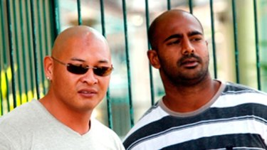 Final hours ... Andrew Chan and Myuran Sukumaran were full of life, supporting their fellow death row inmates and praying with them.