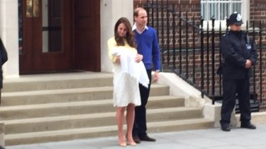 The first Princess of Cambridge in 180 years.
