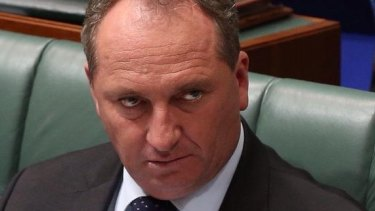 Barnaby Joyce, when pressed to clarify his remarks, said the closing down of the live animal export industry caused 'extreme bad will' with Indonesia.