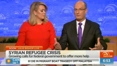Sunrise's Samantha Armytage and David Koch have widened their lead over Today.