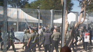 Manus Island's detention centre has been rocked by protests for the past week.