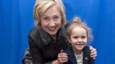 This photo of Clinton and Sullivan has been used for vile memes.