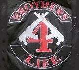Brothers for Life insignia.