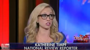 Katherine Timpf has been recieving threats online