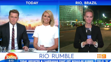 Stefanovic used the term 'tranny' several times on air on Thursday.