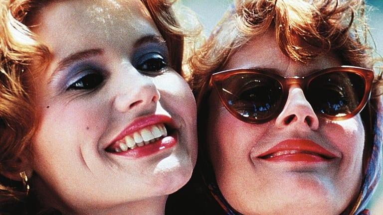 Geena Davis and Susan Sarandon in