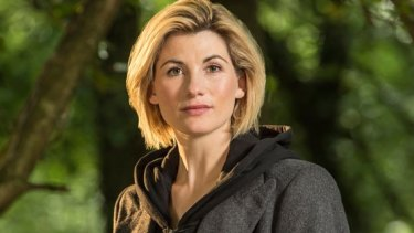 The new Doctor: Jodie Whittaker.