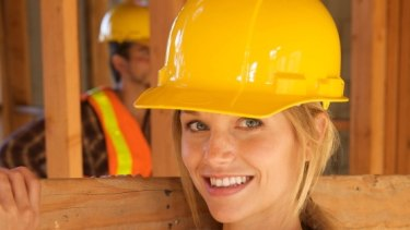 Construction is a high-paid industry with a high gender pay gap.