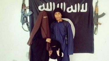 Malaysian police say  Muhammad Wanndy Mohamad Jedi (right) has been using social media to recruit Malaysians and plot terrorist attacks.