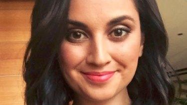 Writer Jamila Rizvi was shocked to receive her flat white in three beakers.