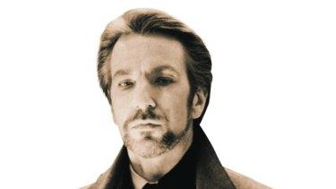 Alan Rickman as Hans Gruber in Die Hard.