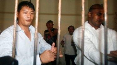 Awaiting execution: Australians Andrew Chan and Myuran Sukumaran.
