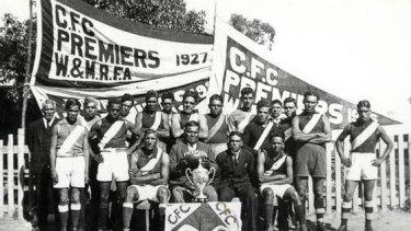 Cummeragunja football premiers, circa 1927.
