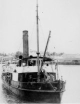 The original Otter, steamship between North Stradbroke Island and Brisbane CBD.