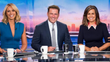In their tenth year as co-hosts, Stefanovic and Wilkinson have finally defeated </i>Sunrise</i>.
