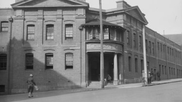 The Children's Court in Surry Hills in the 1930s.