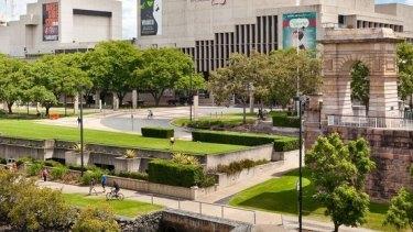 Queensland Performing Arts Centre. part of the Queensland Cultural Precinct.
