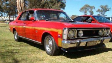 The 'Ford 1970 XW GTHO Falcon' that turned out to be just a regular old Ford.