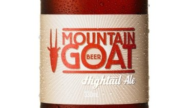 Mountain Goat Hightail Ale.