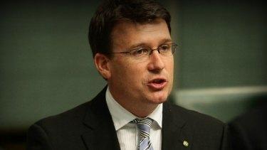 Parliamentary secretary Alan Tudge.