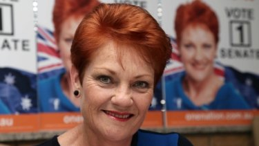 Pauline Hanson: ''I don't believe there's going to be hate.''