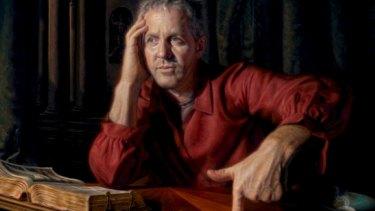 Study ... The winning work, <i>Self Portrait after St Jerome, Flanders</i>.