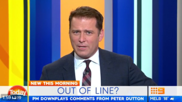 Karl Stefanovic has reportedly split from his wife of 21 years.