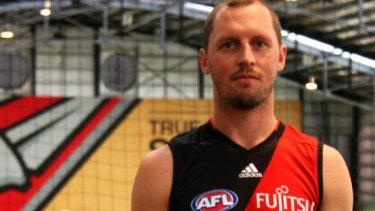 James Kelly joined Essendon on Wednesday.