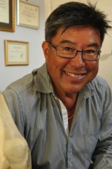 Mosman sports doctor Michael Oei,  who took the Australian Golf Club to court after it expelled him for cheating.